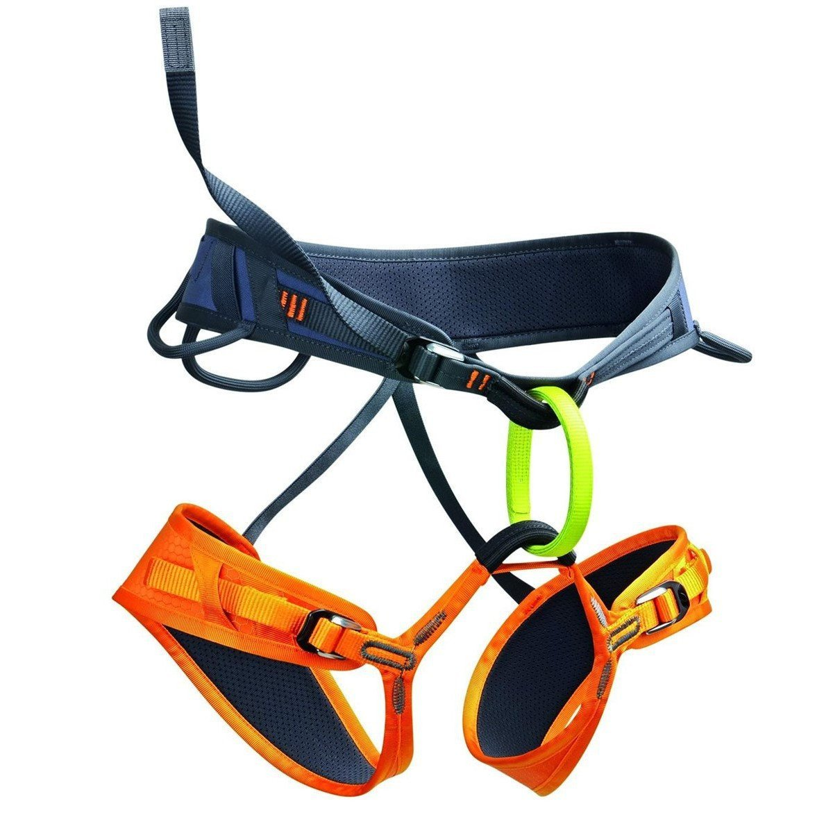 Edelrid Wing Harness blue, orange and green