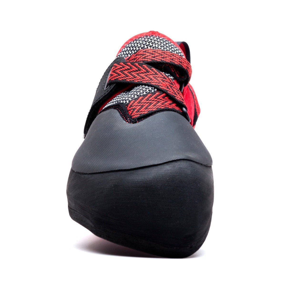 Evolv Agro climbing shoe, view from the front