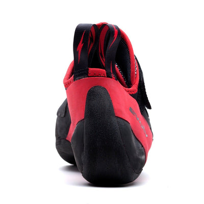 Evolv Agro climbing shoe rear view