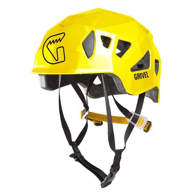 Grivel Stealth climbing Helmet, in yellow colour