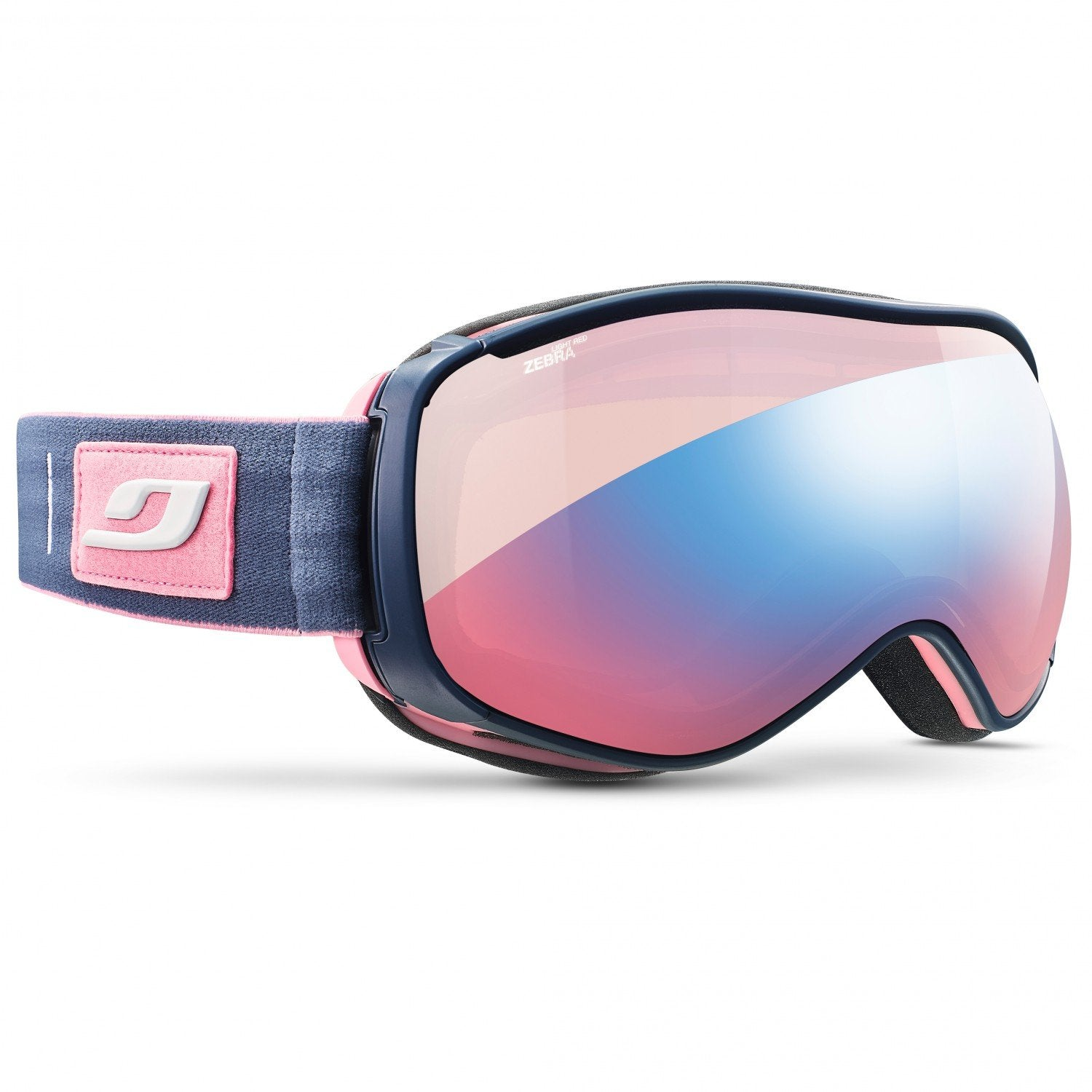 Julbo Starwind Zebra Light Red Cat 1-3 Goggles (Rose/Blue)