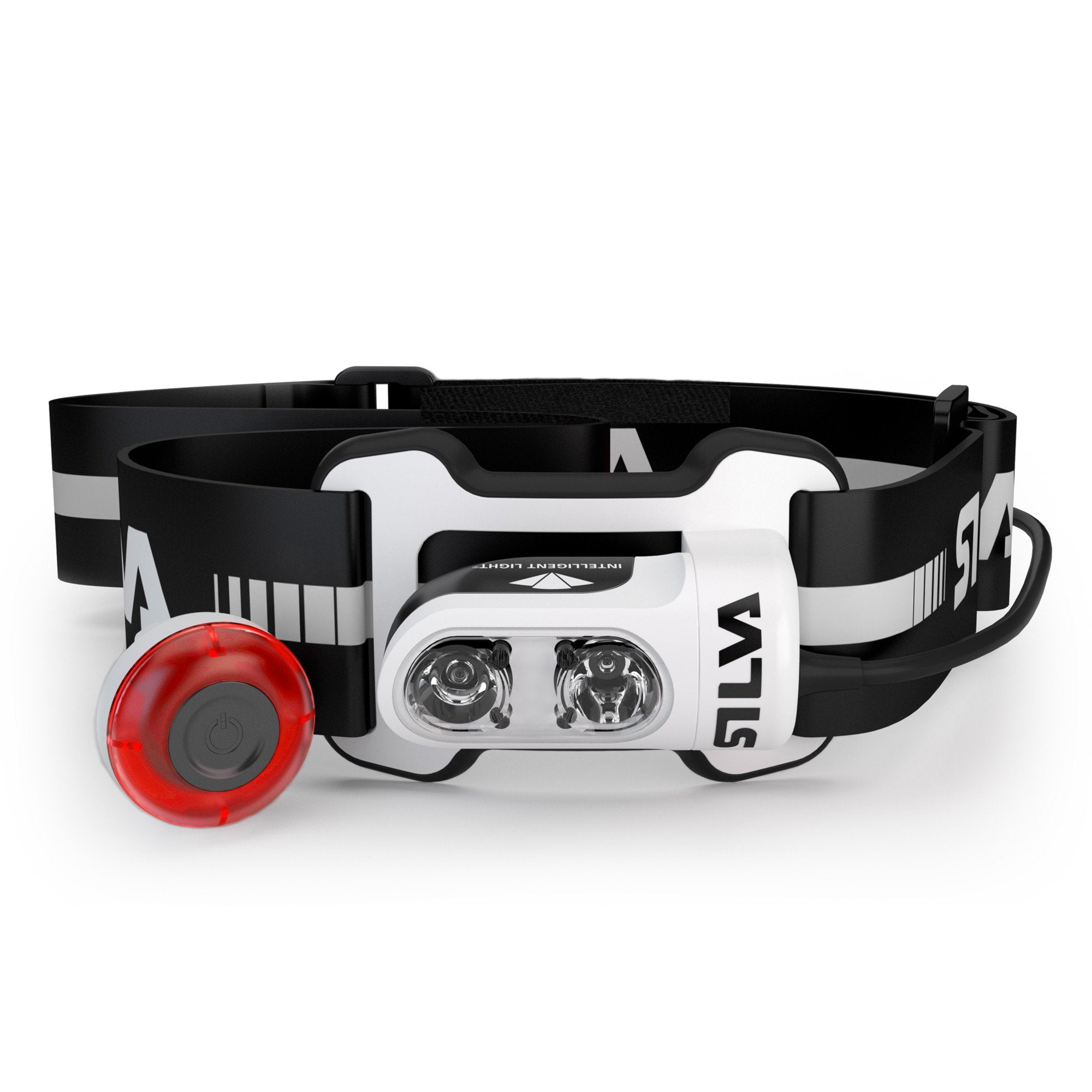 Silva Trail Runner 4 Ultra headlamp, in white and black colours