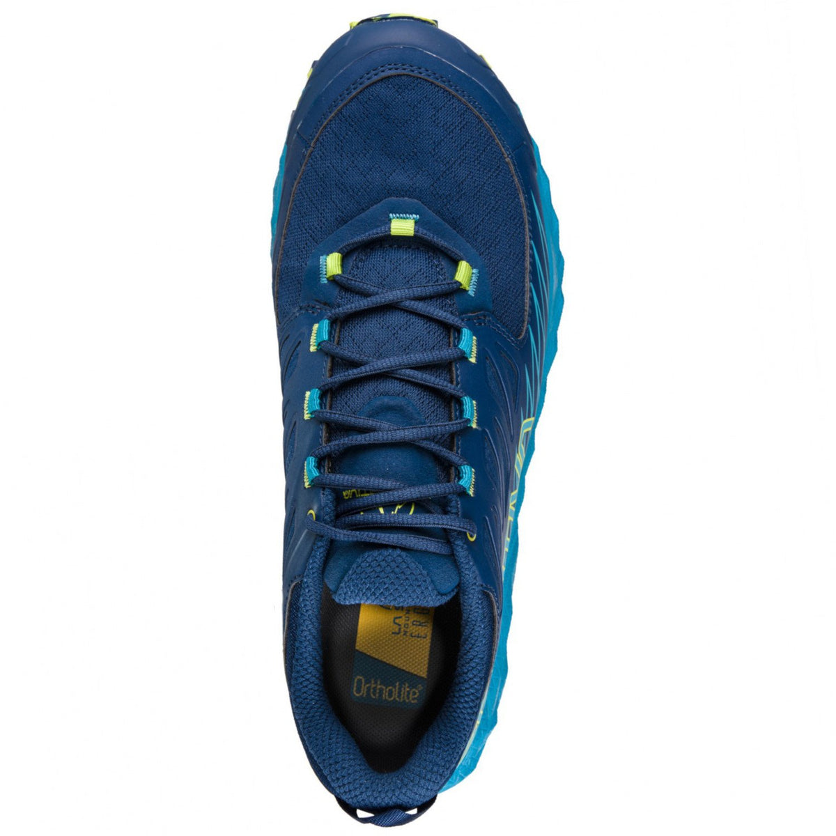 La Sportiva Lycan GTX running shoe, view as seen from above