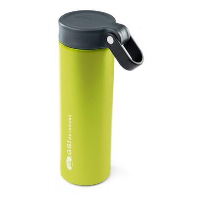 GSI Microlite 720 Twist flask, in green colour with black lid