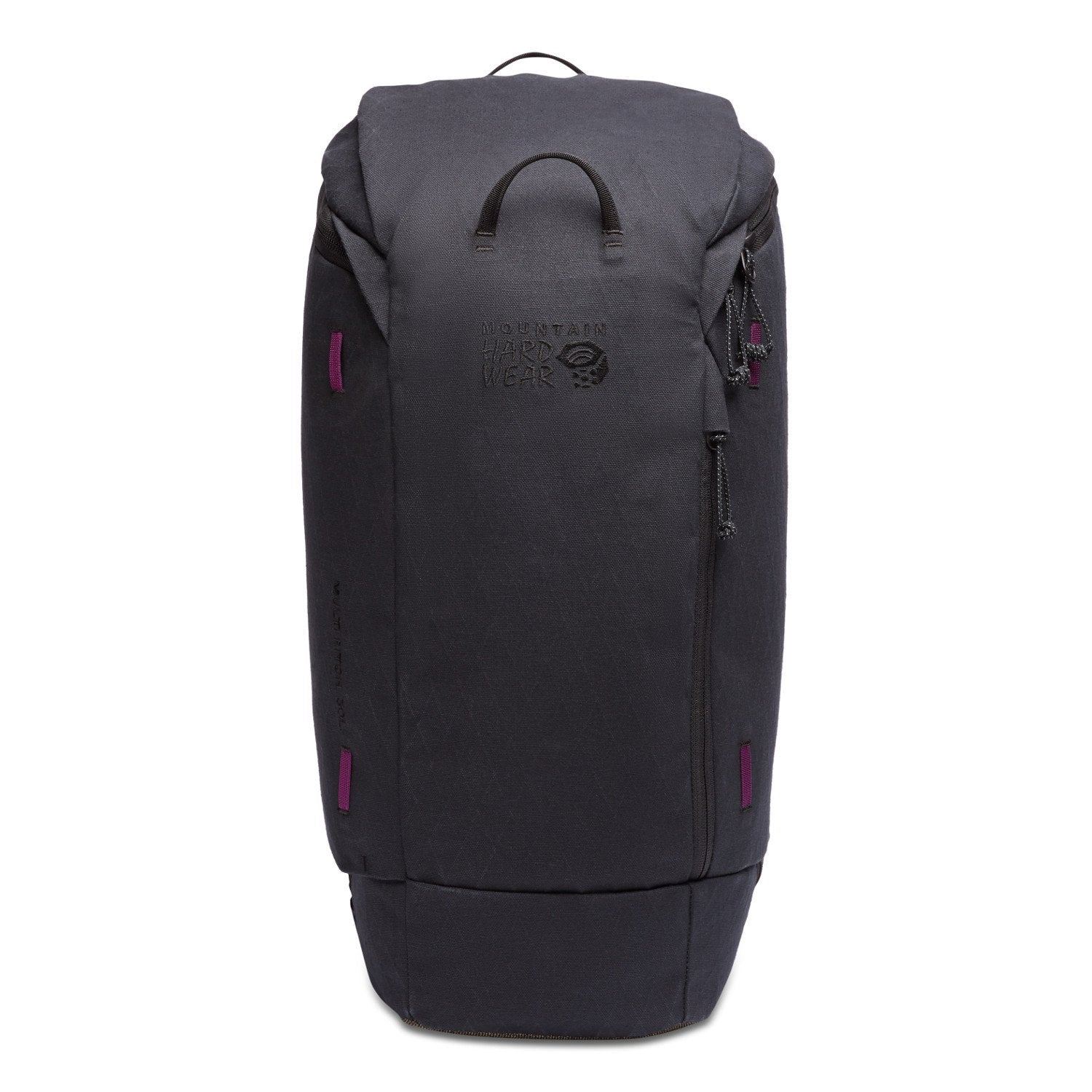 Mountain Hardwear Multi-Pitch 30 rucksack, front view in black colour