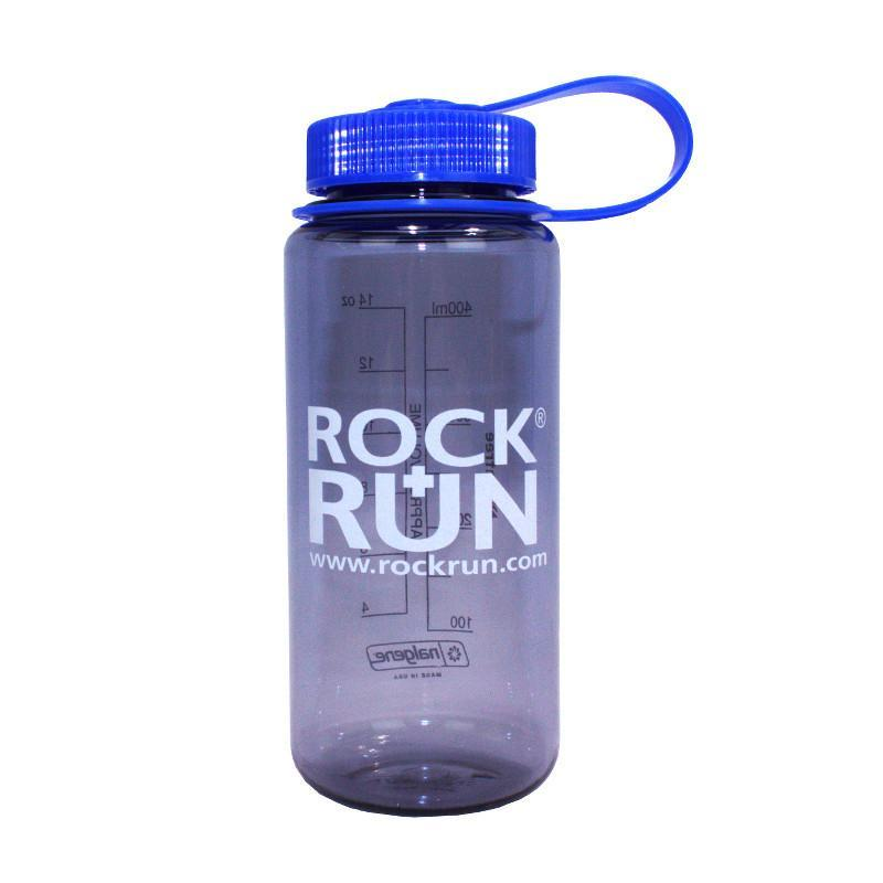 R+R Nalgene Wide Mouth 0.5 Litre water bottle (Grey)
