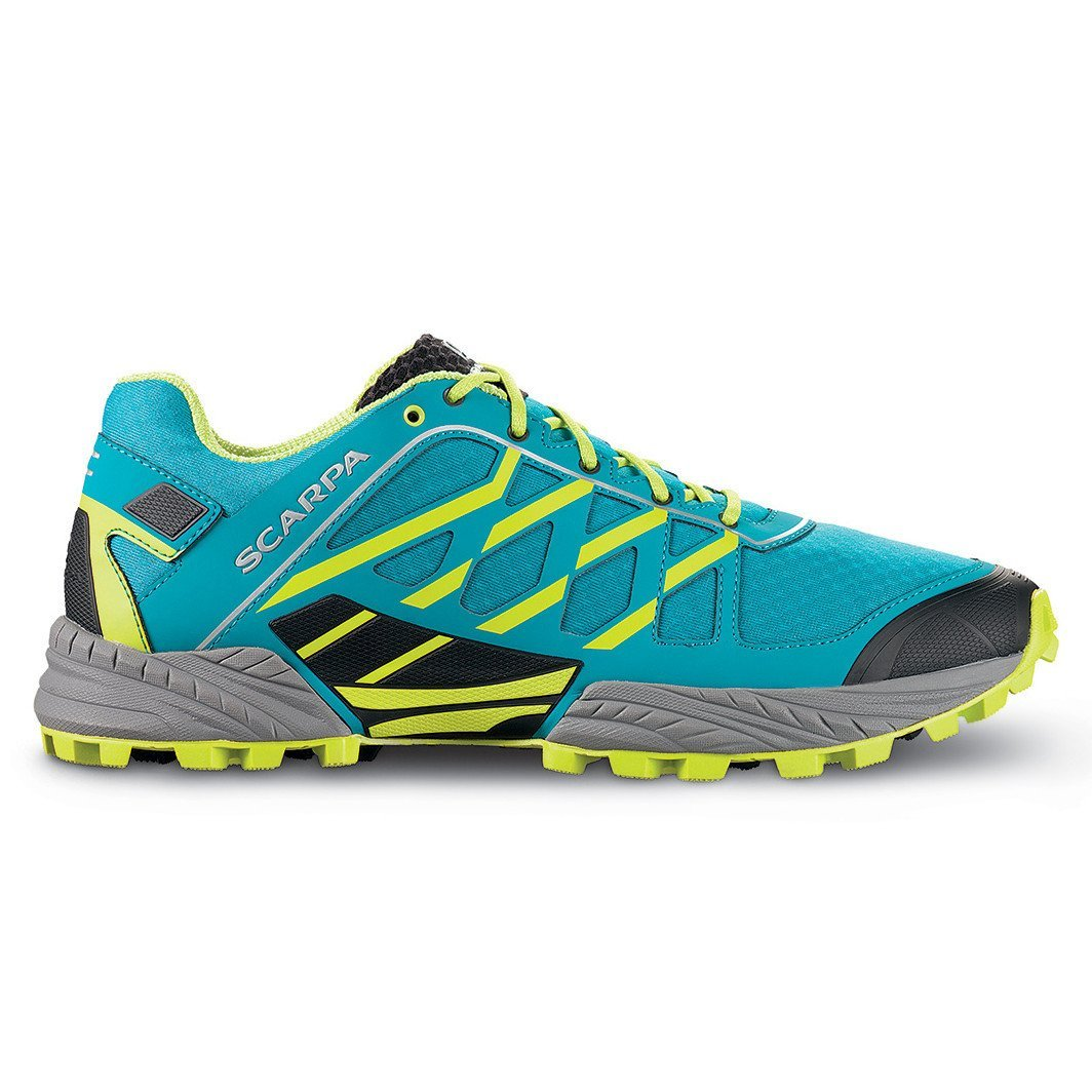 Scarpa Neutron trail running shoe, inner side view