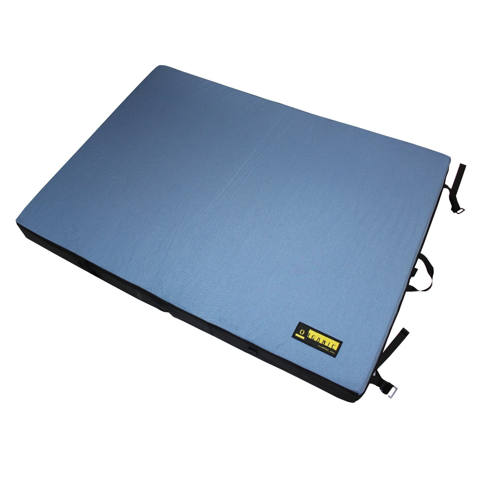 Organic Simple Pad, shown open laid flat in blue colour
