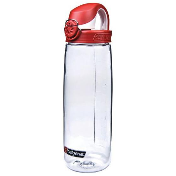 Nalgene OTF 700ml Bottle (Clear/Orange)