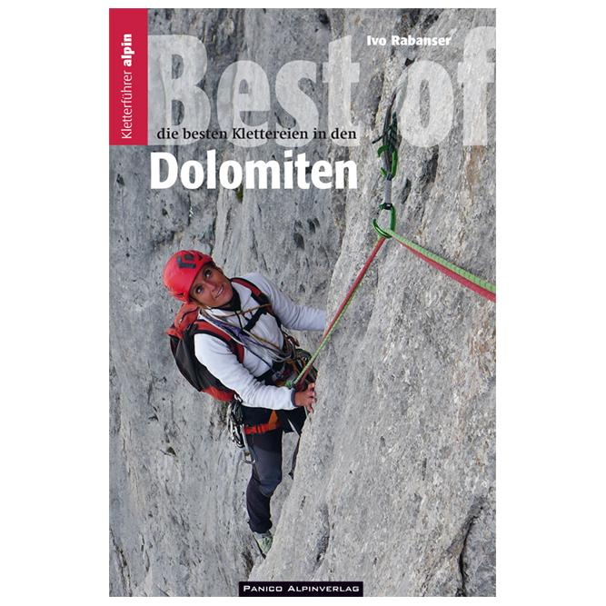 Best of Dolomiten climbing guidebook, front cover