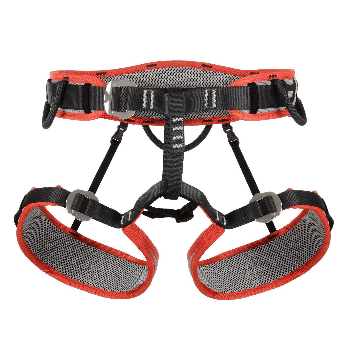 DMM Renegade 2 Harness in black, grey and orange colours