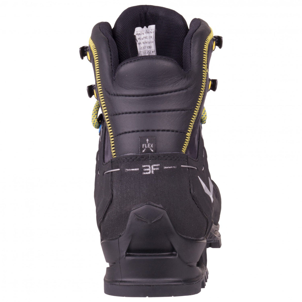 Salewa Rapace GTX Mountaineering Boot, showing heel and 3F Ankle support