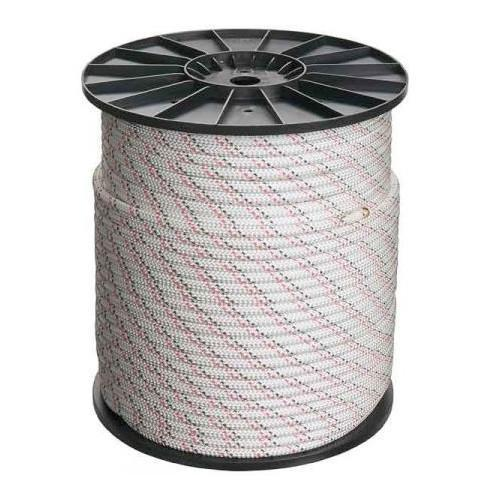 Beal Semi Static Rope 10.5mm 200m, Reel of white coloured rope