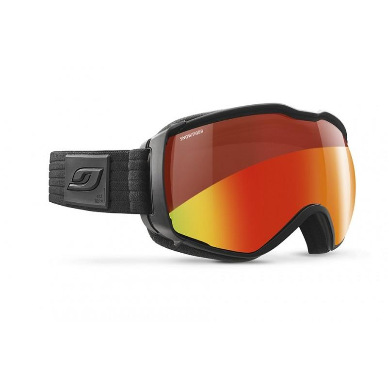 Julbo Aerospace Snowtiger goggles, in orange/red and black