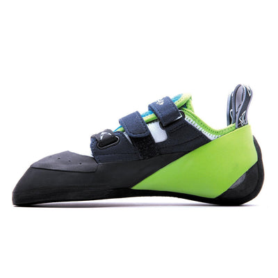 Evolv Supra climbing shoe, view from the side