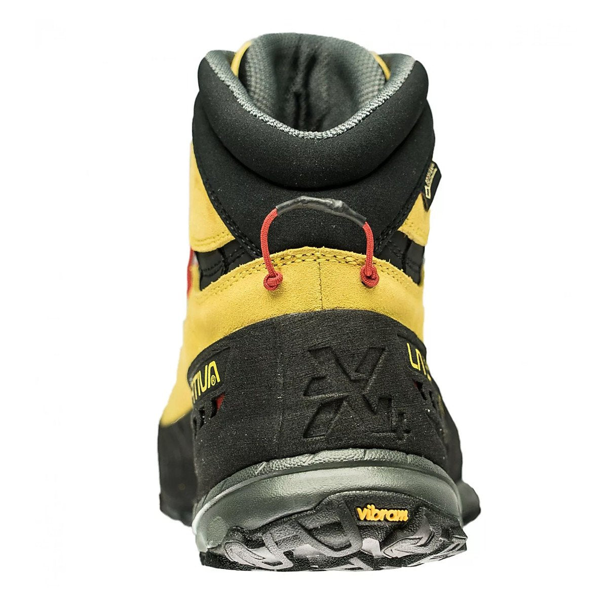 La Sportiva TX4 Mid GTX approach shoe, rear view showing the heel design