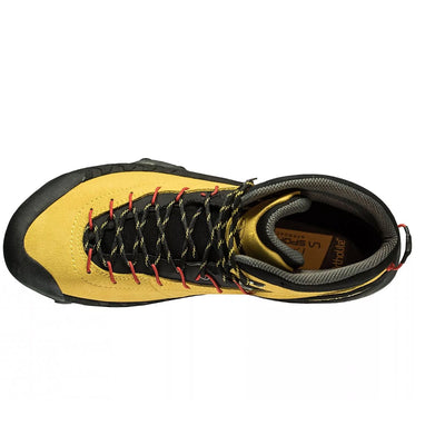 La Sportiva TX 4 Mid GTX approach shoe, view from above
