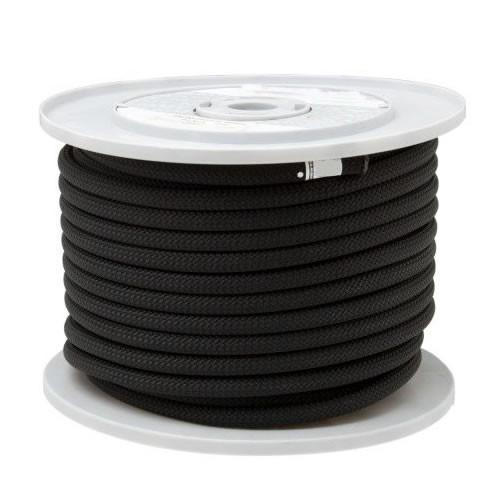 Tendon Semi Static Rope 10.5mm, shown on reel in black colour