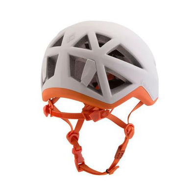 Black Diamond Vector women's climbing helmet, rear view