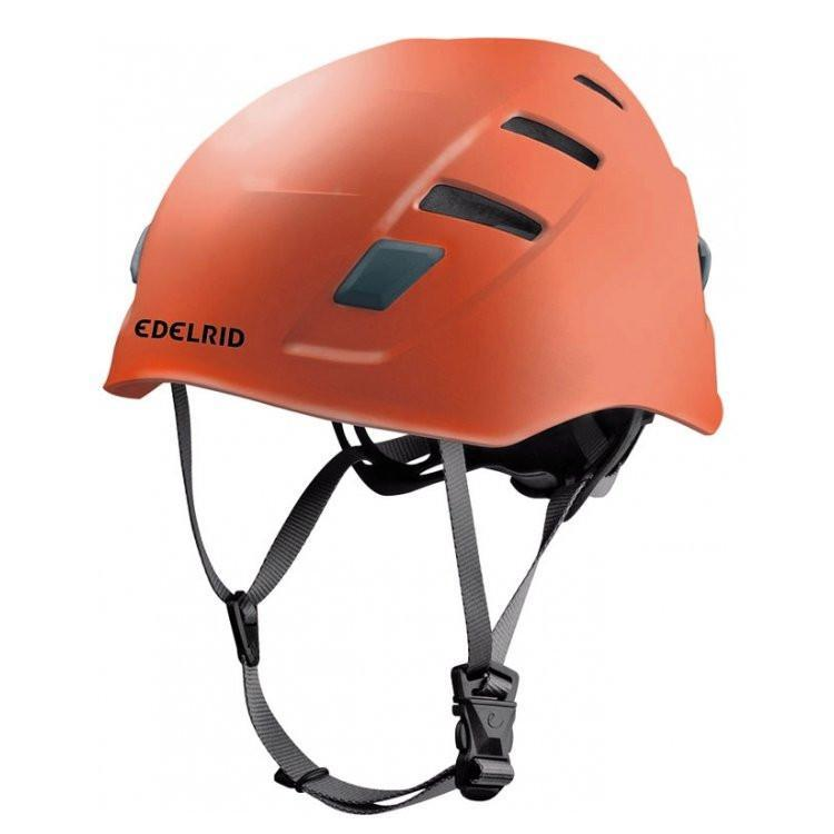 Edelrid Zodiac climbing helmet, in orange colour