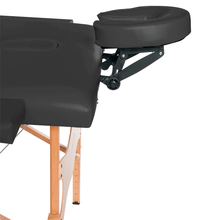 Load image into Gallery viewer, 3B Scientific Basic Portable Massage Table black