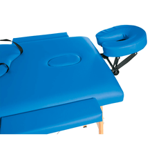 Load image into Gallery viewer, 3B Scientific Basic Portable Massage Table blue