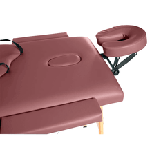 Load image into Gallery viewer, 3B Scientific Basic Portable Massage Table burgundy