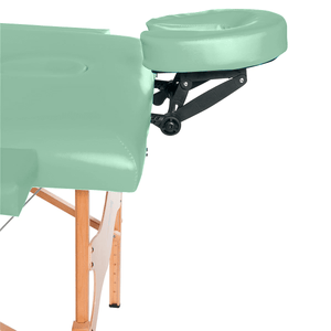 3B Scientific Basic Portable Massage Table green