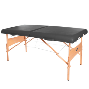3B Scientific Deluxe Portable Massage Table black