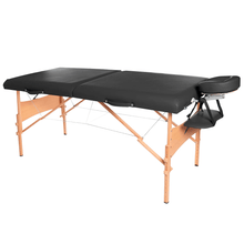 Load image into Gallery viewer, 3B Scientific Deluxe Portable Massage Table black