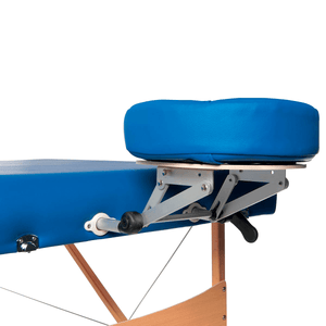 3B Scientific Deluxe Portable Massage Table blue