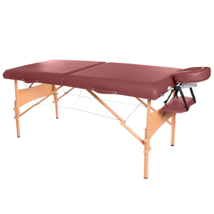 3B Scientific Deluxe Portable Massage Table burgundy