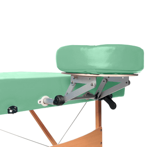 3B Scientific Deluxe Portable Massage Table green