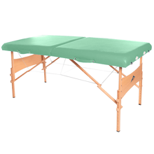Load image into Gallery viewer, 3B Scientific Deluxe Portable Massage Table green