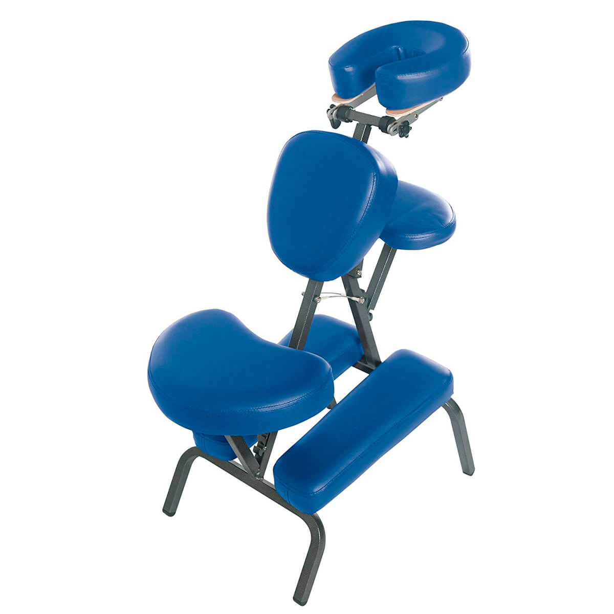 3B Scientific PVC Vinyl Pro Massage Chair blue