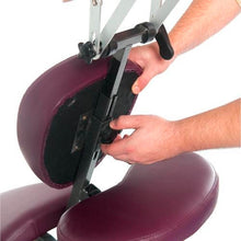 Load image into Gallery viewer, 3B Scientific PVC Vinyl Pro Massage Chair burgundy
