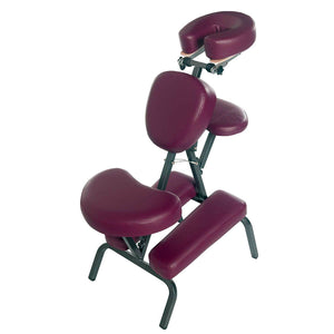 3B Scientific PVC Vinyl Pro Massage Chair burgundy