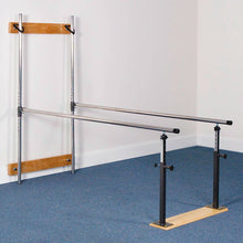 Load image into Gallery viewer, 3B Scientific Wall Mounted Folding Parallel Bars - 7 ft