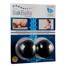 Load image into Gallery viewer, BakBalls® Massage Back Balls for Back Pain & Stiffness - Black - Firm 1