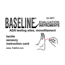 Load image into Gallery viewer, Baseline® Tactile™ Monofilament - ADA Program - Disposable - 5.07 - 10 gram - Single unit