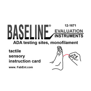 Baseline® Tactile™ Monofilament - ADA Program - Disposable - 5.07 - 10 gram - Single unit