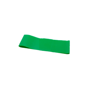 "CanDo Band Exercise Loop - 10"" Long green medium"