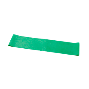 "CanDo Band Exercise Loop - 15"" Long green medium"