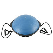 "Load image into Gallery viewer,  Blue CanDo Core-Training Vestibular Dome (21"") with Resistance Cords"