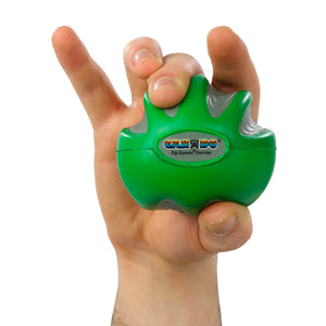 CanDo® Digi-Squeeze® Hand-Exerciser green medium