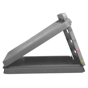 "CanDo® FabStretch® 4-Level Incline Board - Heavy Duty Plastic - 5°, 15°, 25° and 35° Elevation - 14"" x 14"" Surface"