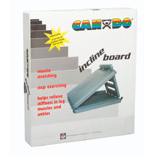 "Load image into Gallery viewer, CanDo® FabStretch® 4-Level Incline Board - Heavy Duty Plastic - 5°, 15°, 25° and 35° Elevation - 14"" x 14"" Surface"