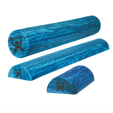 Load image into Gallery viewer, CanDo® Foam Roller - Blue EVA Foam - Extra Firm