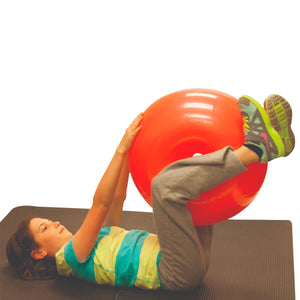 CanDo® Inflatable Donut Exercise Ball 1