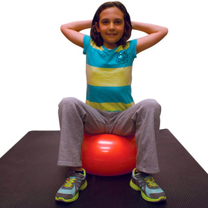 CanDo® Inflatable Donut Exercise Ball 2